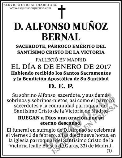 Alfonso Muñoz Bernal